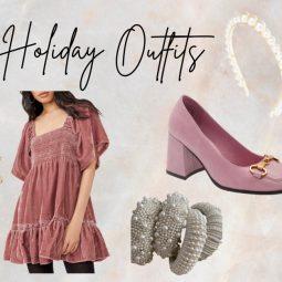 Feminine Christmas Outfits